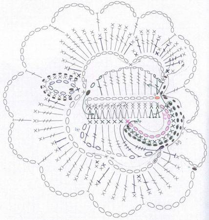 крючком цветок, вязание крючком игрушки схемы, вязание крючком, для.