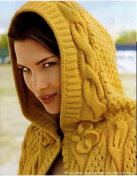 Филейное вязание скатерти.