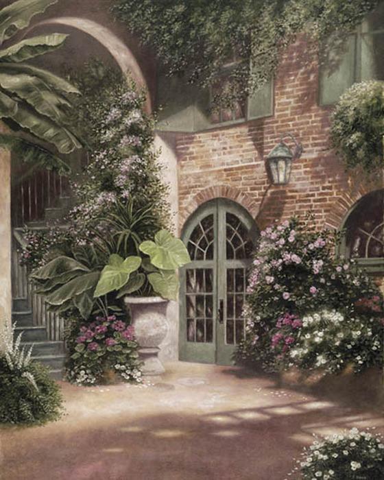 Old Westbury Gardens Rose Garden: Американская художница Betsy Brown.. Обсуждение на