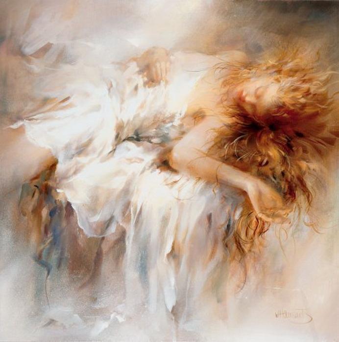 Художник-импрессионист Willem Haenraets родился 9 октября 1940 года в...