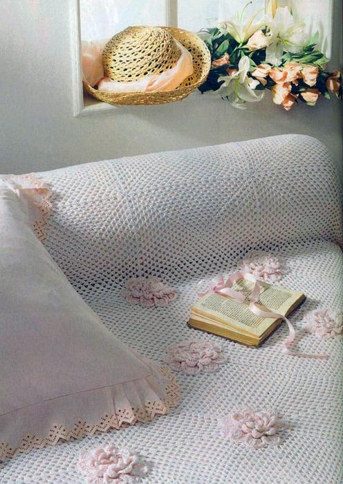 Это цитата сообщения.  Энциклопедия вязания. покрывала и пледы.