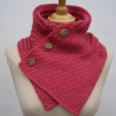 ...мир износил шарф-хомут за осень, а я только созрела до его вязания.