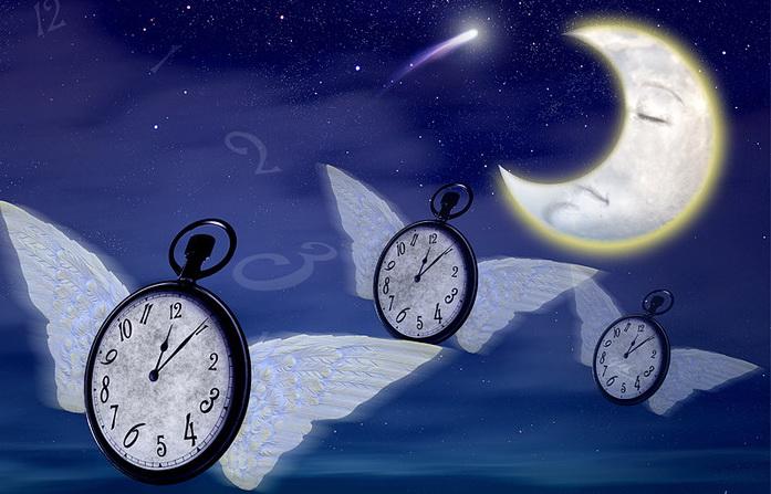 Часы день и ночь в картинках
