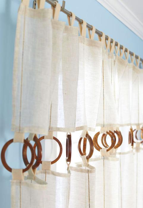 Шторы для детской комнаты в морском стиле.  Полотна штор для мансардных...
