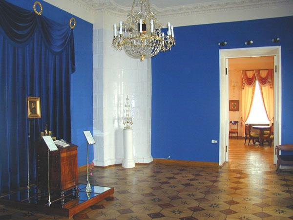 Главный зал Квартиры Пушкина на Арбате - - www.Museum.ru.