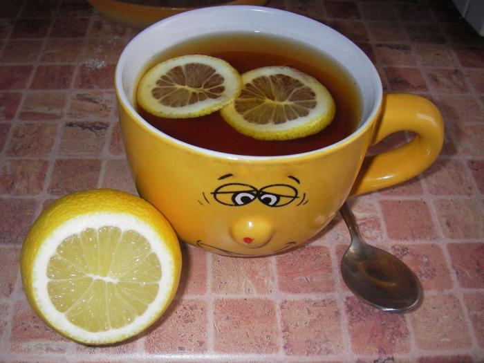 Для, чай с лимоном открытка прикольная