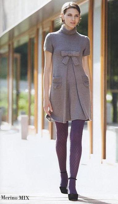 Архивы, платья, схемы вязания