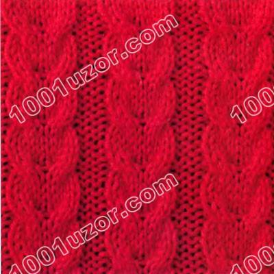 Узоры вязания спицами косы для мужчин.