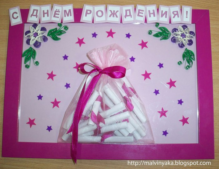 Как сделать подарок ко дню рождения маме