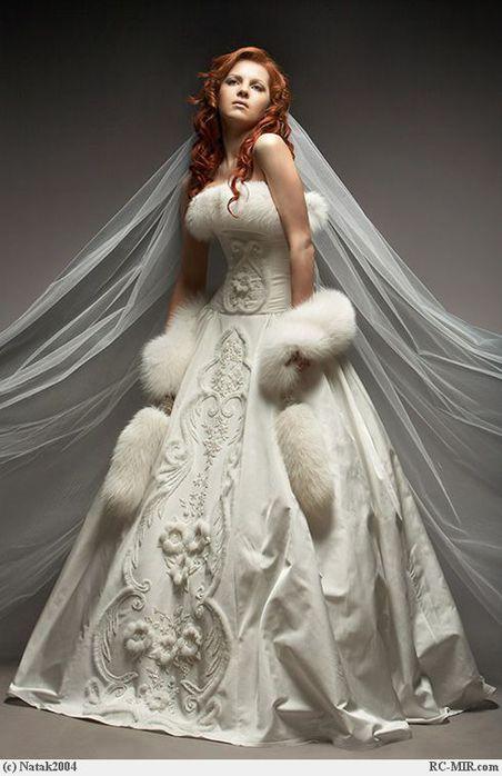 ...Свадебное платье Розали.  Вариант 6.