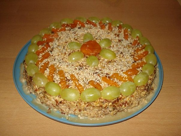 Торт к Новому году - Готовим без мяса - я.ру
