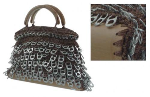 Вязаная крючком сумка. модные вязаные сумочки крючком со схемами.