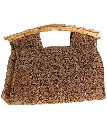 сумка мешок вязаная спицами.