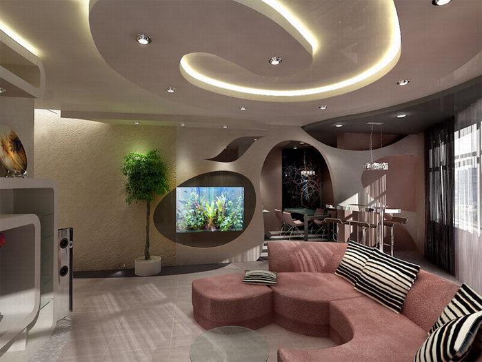 Дизайн гостиной своими руками Ремонт.