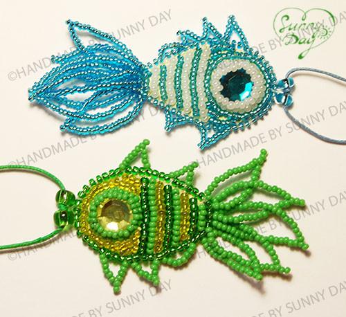 Кулон ручной работы в виде рыбки может стать вашим талисманом.