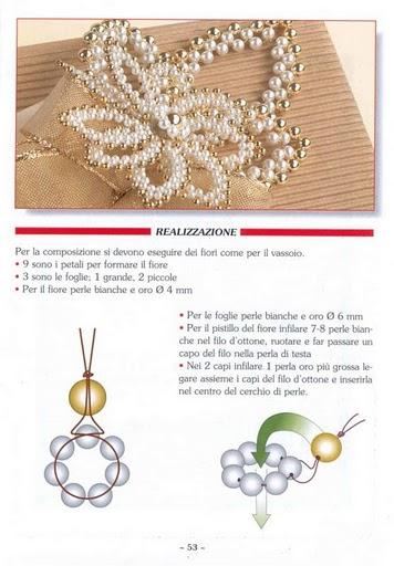 Метки: бисер. схема очень красивого цветка с бисера. ссылка.  Alla1505.
