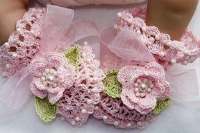 схемы вязания пинеток спицами для начинающих.