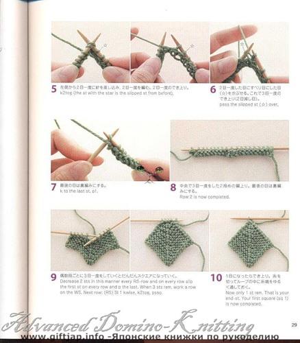 вязание спицами -супер техника.