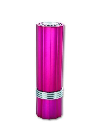 """Зажигалка  """"Pierre Cardin """" газовая пьезо, со стразами, розовый металлик..."""
