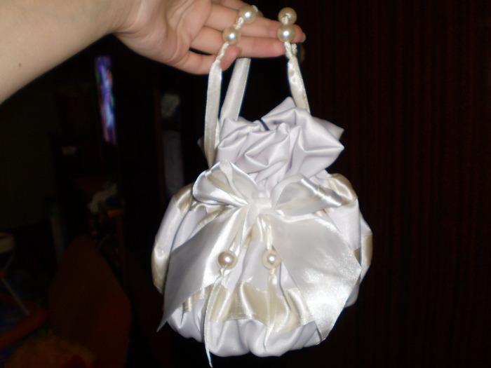 как сшить сумку для невесты своими руками.