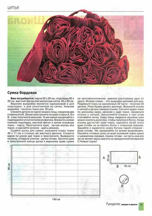 Выкройки сумок - Страница 5 - Форум.