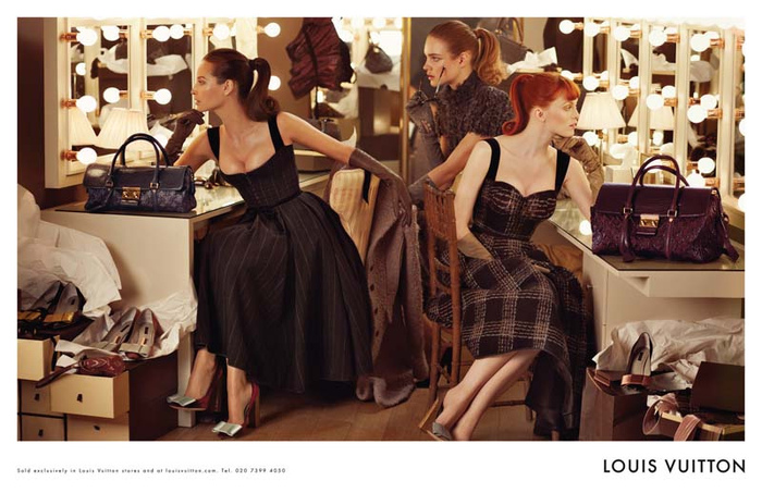 ...Elson) by Steven Meisel / Louis Vuitton Fall 2010.