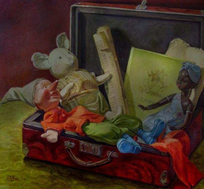 Шумакова Елена.  В старом чемодане.
