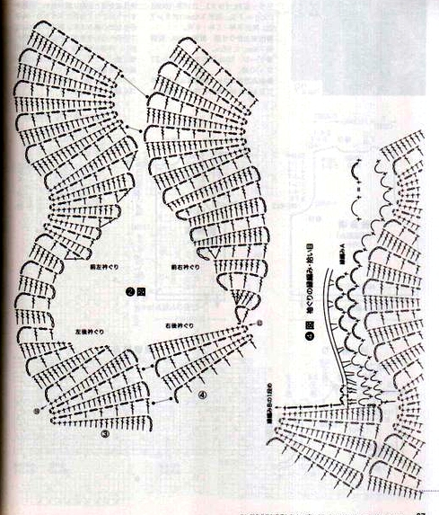 Описание: вязаные модели из японских журналов.
