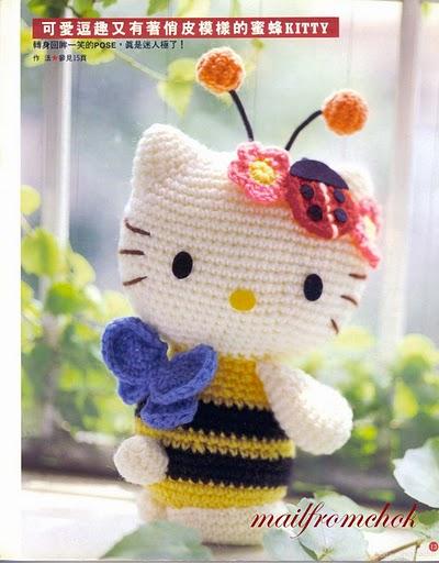 Прочитать целикомВ. схема вязания крючком игрушек амигуруми кот заяц.
