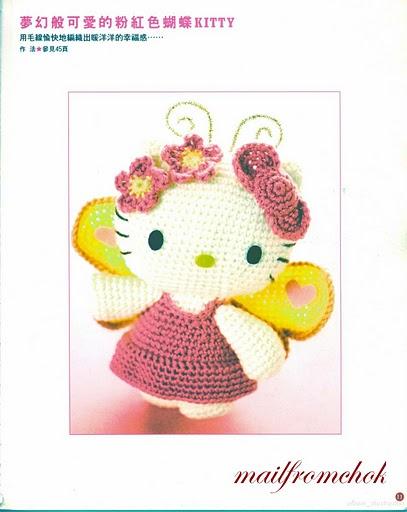 Вяжем сами мягкую игрушку Hello Kitty крючком. ... также мастер-классы...