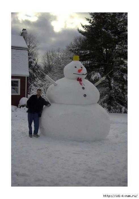 С.с, картинка смешная снеговиков одень ведро