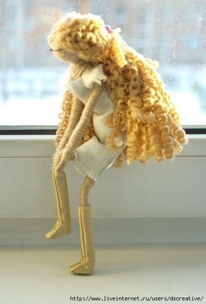 Куклы на каркасе крючком на лайфинтернет