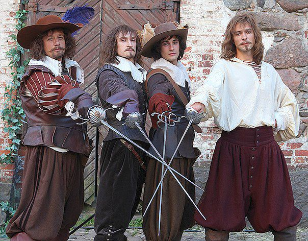 Три мушкетера франция
