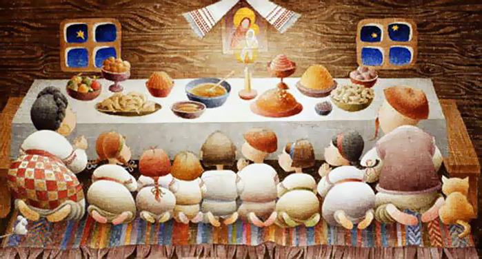 108736723 77291650 - Рождественский стол: кто что готовит?