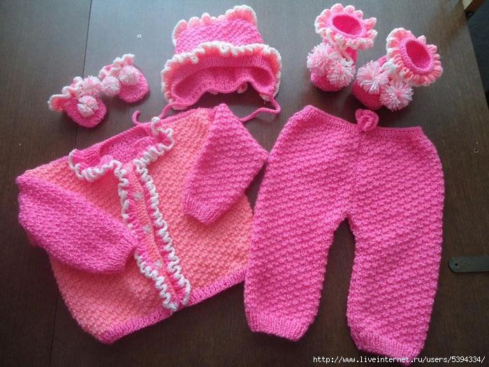 вязание штанишек спицами для новорожденных обсуждение на