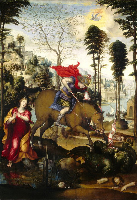Св. Георгий. 1518 г. Национальная галерея, Вашингтон (481x700, 142Kb)