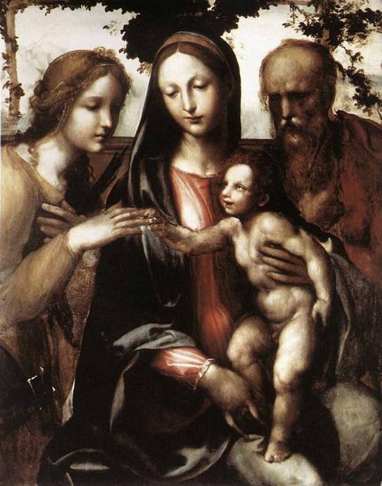 Мистический брак святой Екатерины (549x700, 108Kb)