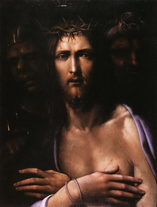 Ecce Homo  1510  Милан Пинакотека Брера (532x700, 72Kb)