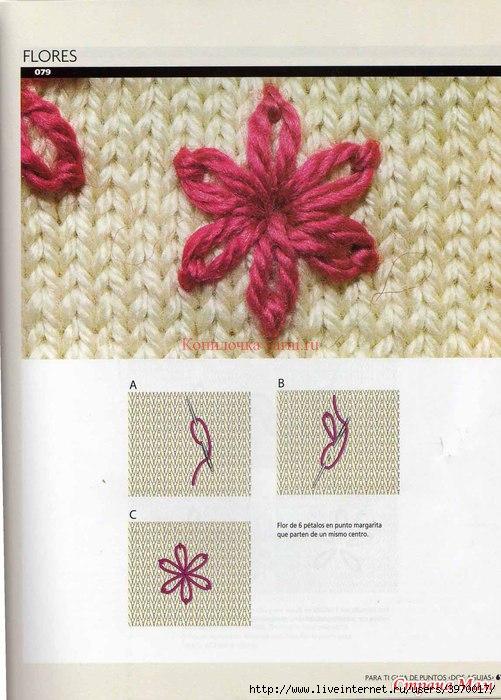 вышивка по вязаному полотну записи в рубрике вышивка по вязаному