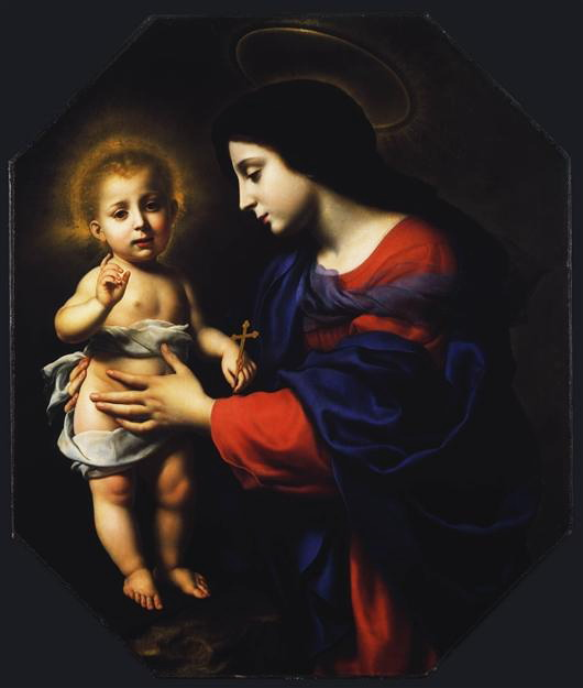 Madonna and Child (530x625, 37Kb)