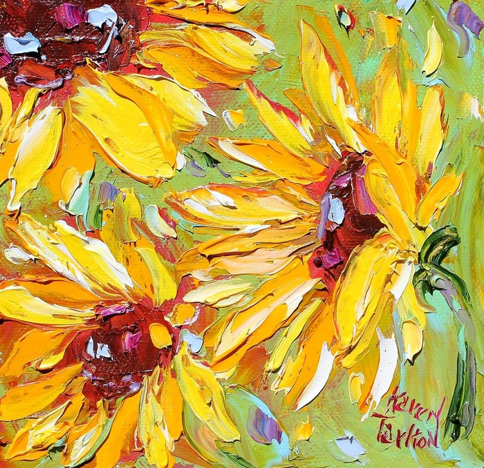 sunflowers-karen-tarlton (700x678, 512Kb)