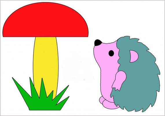 глушаков гриб из цветной бумаги такие помещения могут