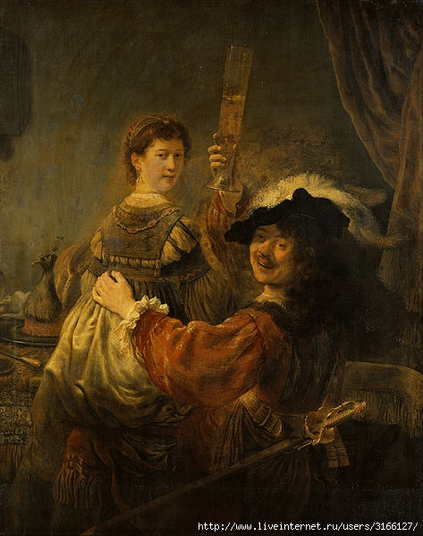 106711774_4638534_Rembrandt__Rembrandt_and_Saskia_in_the_Scene_of_the_Prodigal_Son__Google_Art_Project (473x599, 180Kb)