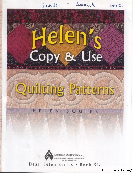 quilting patterns helen's 001 (539x700, 321Kb)