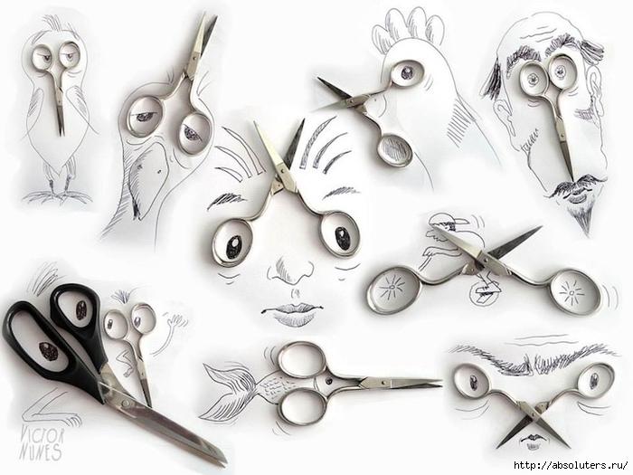 Он создал целую серию работ по принципу анимированных зарисовок...