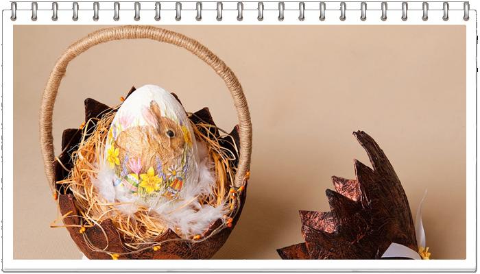 Пасхальное яйцо и пасхальная композиция своими руками