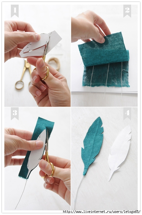 diy-fabric-feather-wedding-3 (463x700, 180Kb)