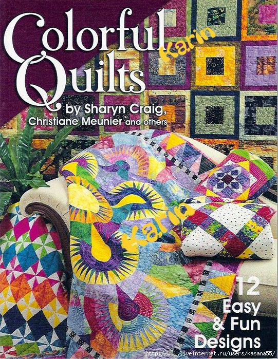 Colorful Quilts (541x700, 404Kb)