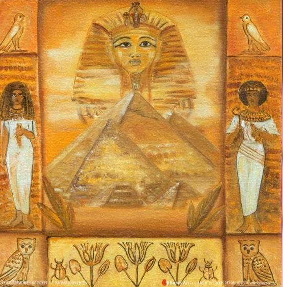 египетском стиле картинки для декупажа особи осуществляют паразитирование