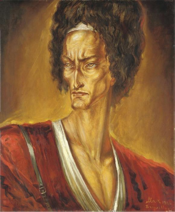 15 Портрет туркмена 1946 (580x700, 442Kb)